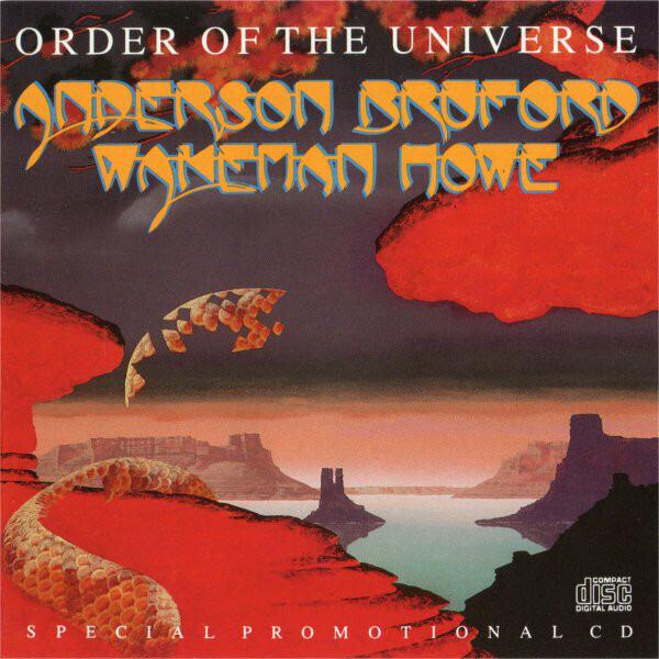 ANDERSON BRUFORD WAKEMAN HOWE - Order Of The Universe - CD single