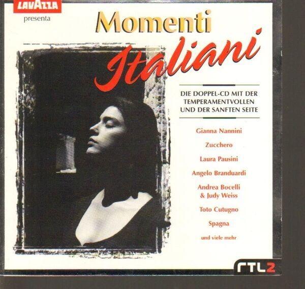 ANDREA BOCELLI / GIANNAI NANNINI / ZUCCHERO A.O. - Momenti Italiani - CD x 2