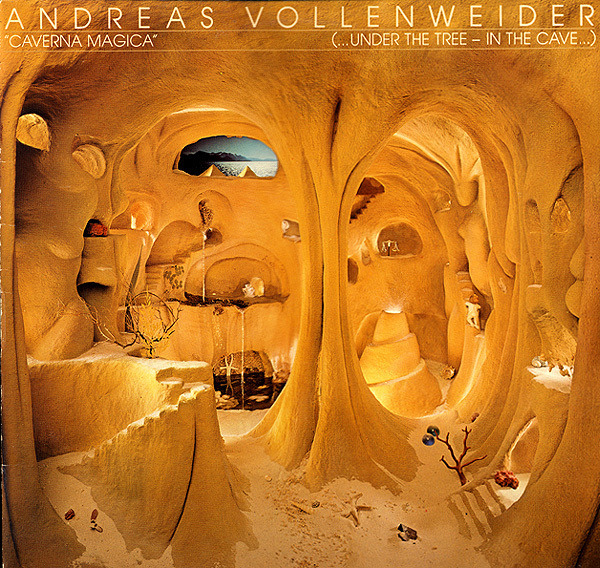 ANDREAS VOLLENWEIDER - Caverna Magica (...Under The Tree - In The Cave...) (HALF SPEED MASTERED) - LP