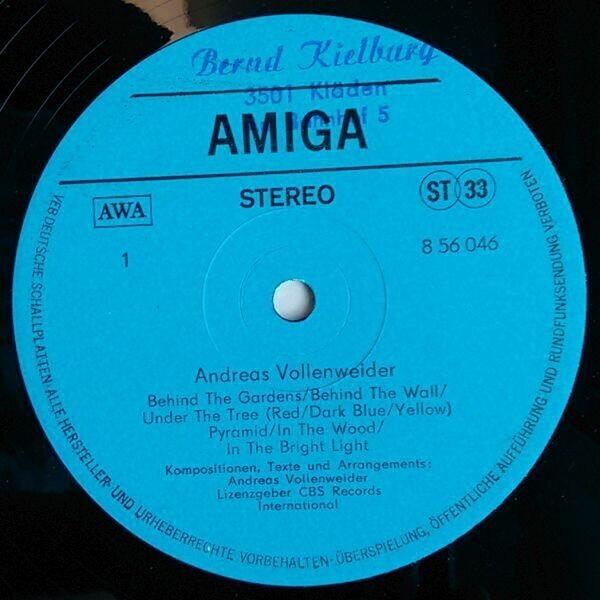 Andreas Vollenweider Andreas Vollenweider