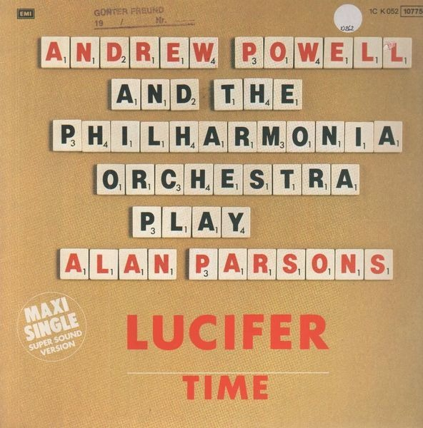 ANDREW POWELL AND THE PHILHARMONIA ORCHESTRA - Lucifer / Time - Maxi x 1