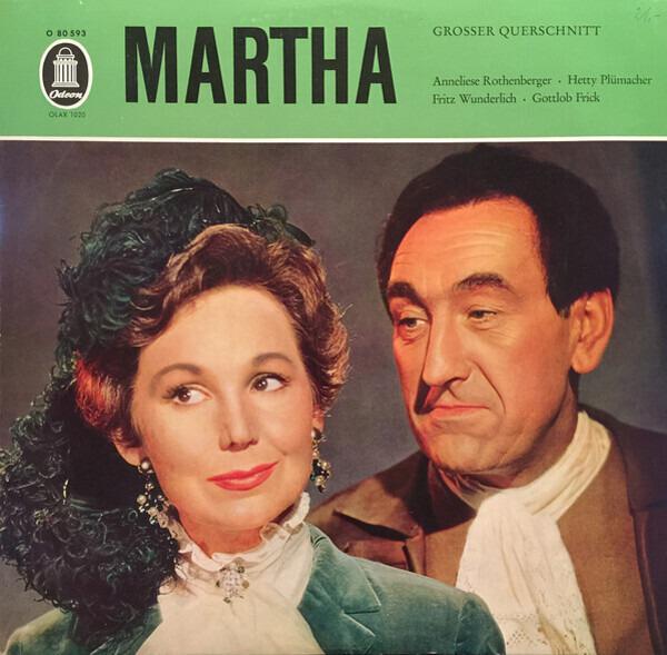 Friedrich von Flotow Martha (Großer Querschnitt)