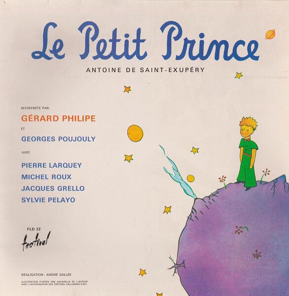 Antoine De Saint Exupery Le Petit Prince Gatefold