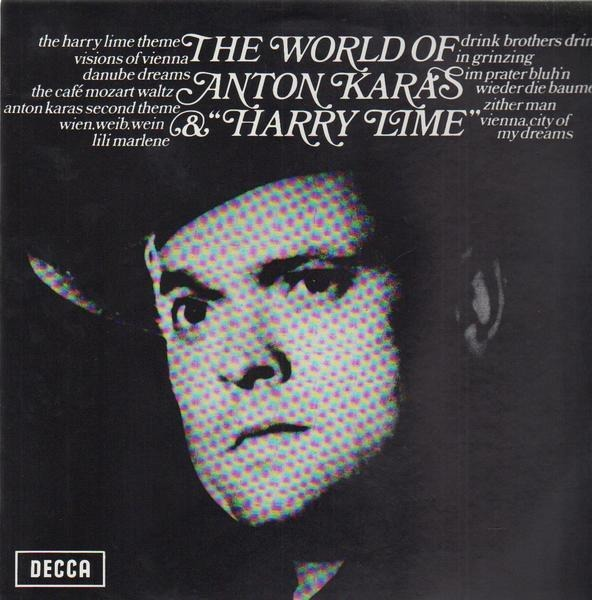 Anton Karas The World Of Anton Karas & 'Harry Lime'