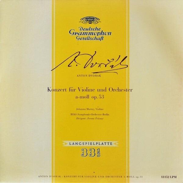 #<Artist:0x007f8a0d076cc0> - Konzert Für Violine Und Orchester A-Moll Op. 53