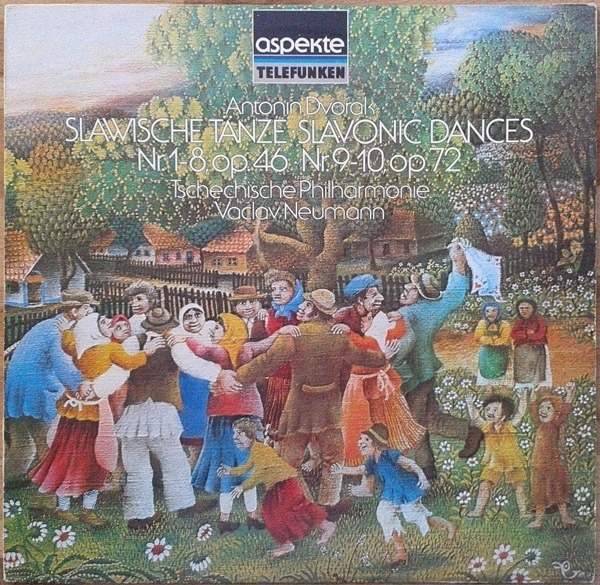 #<Artist:0x007faa53e4f368> - Slawische Tänze - Slavonic Dances: Nr. 1-8, Op.46 - Nr. 9-10, Op.72