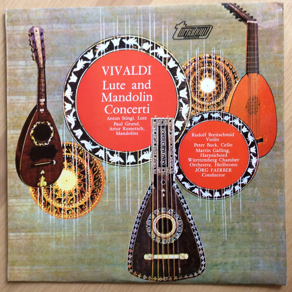#<Artist:0x00007f4174c953d0> - Lute And Mandolin Concerti