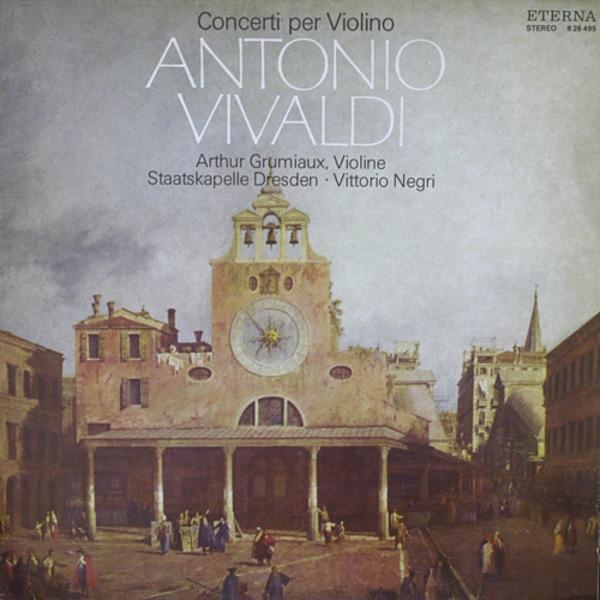 #<Artist:0x0000000607f6d8> - Concerti Per Violino (Vittorio Negri)