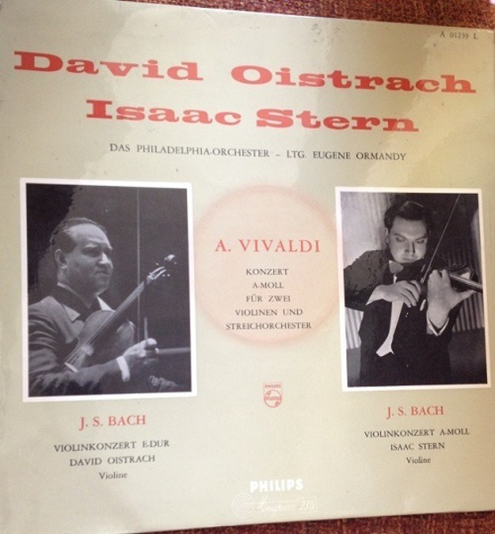 #<Artist:0x00007fcea6072598> - Concerto For Two Violins And String Orchestra In A Minor