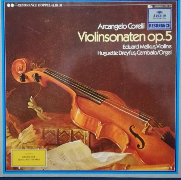 #<Artist:0x0000000005cc3300> - Violinsonaten Op.5