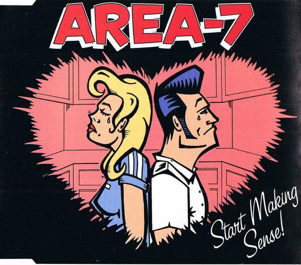 AREA-7 - Start Making Sense - CD Maxi