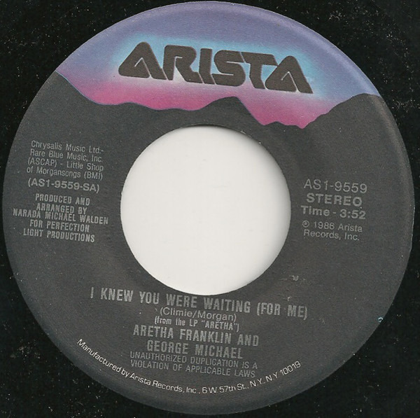Aretha Franklin & George Michael i knew you were waiting (for me)