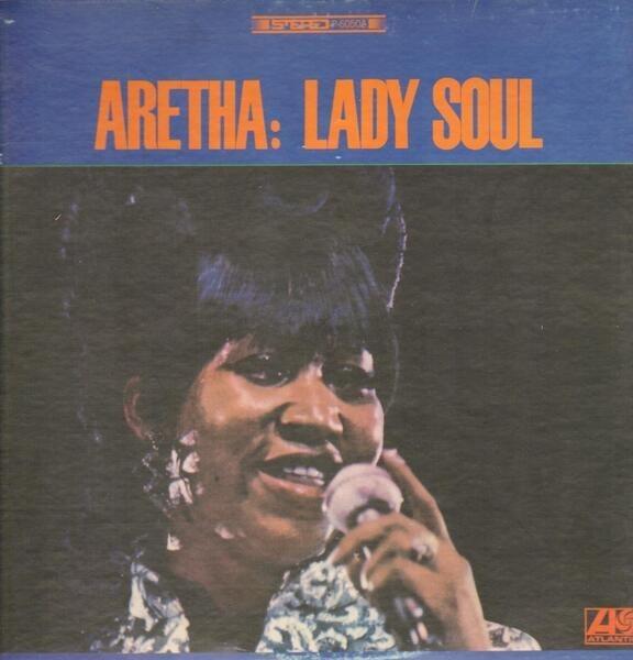 aretha franklin lady soul (+insert)