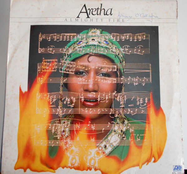 aretha franklin almighty fire (presswell pressing)