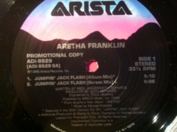 Aretha Franklin Jumpin' Jack Flash