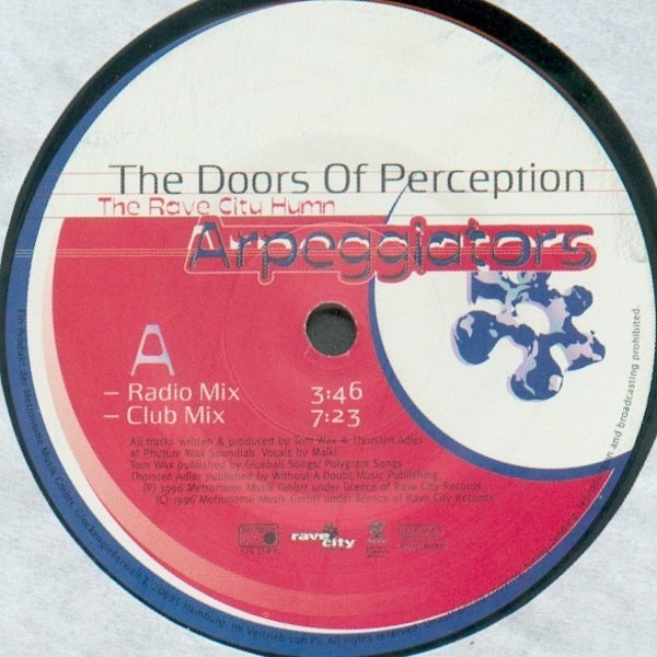 #u003cArtist0x007f59c3018e38u003e - The Doors Of Perception ... & The Doors Of Perception - The Rave City Hymn - Arpeggiators | 12 ...