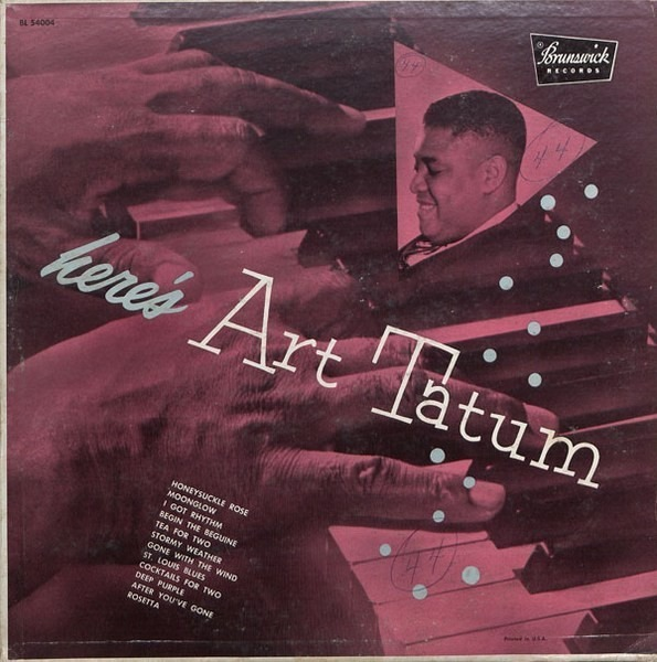 #<Artist:0x00007f4ded947c98> - Here's Art Tatum