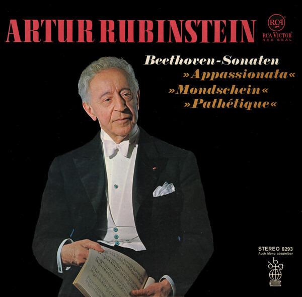 Arthur Rubinstein/Beethoven Beethoven-Sonaten (»Appassionata«,  »Mondschein«, »Pathétique«)