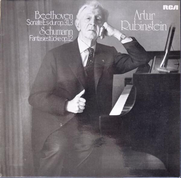 Arthur Rubinstein Beethoven - Schumann