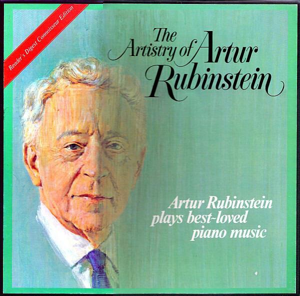 The Artistry Of Artur Rubinstein - Artur Rubinstein Plays Best~Loved Piano  Music