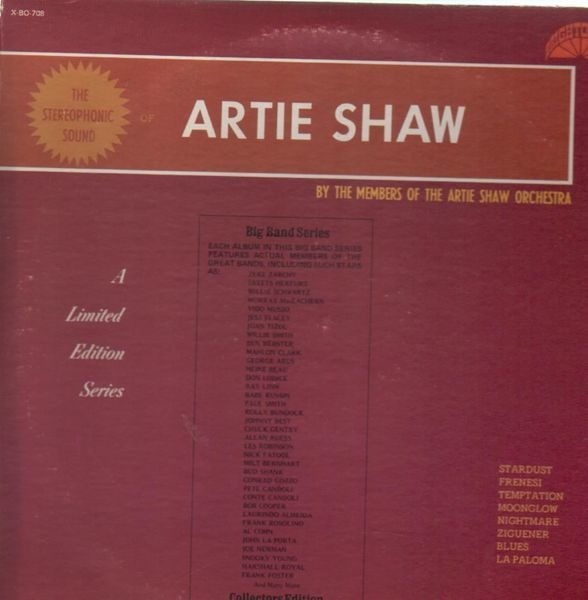 By The Members Of The Artie Shaw Orchestra