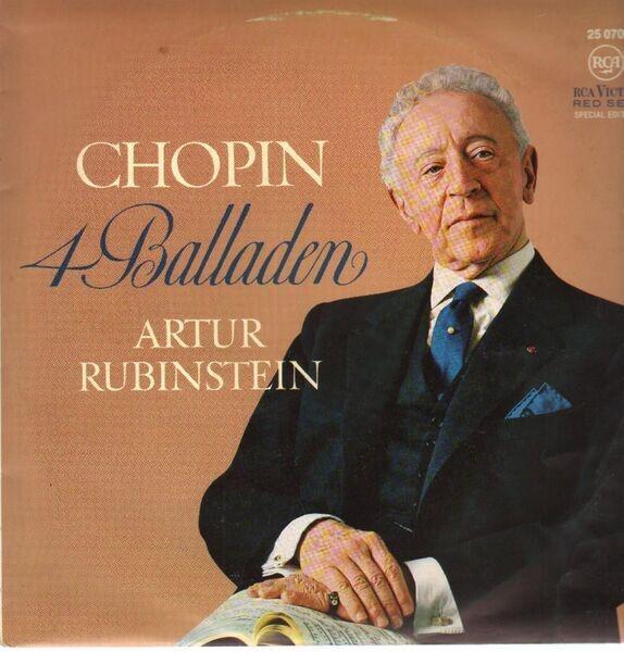 Chopin 4 Balladen