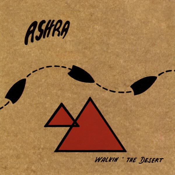 ASHRA - Walkin' the Desert - CD