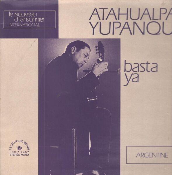 atahualpa yupanqui basta ya (gatefold)