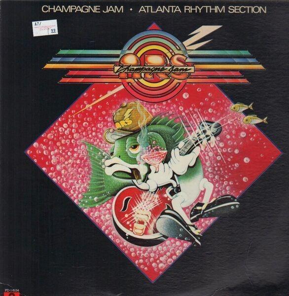ATLANTA RHYTHM SECTION - Champagne Jam - LP