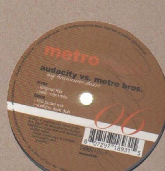 Audacity vs. Metro Bros. My Brand New Desire