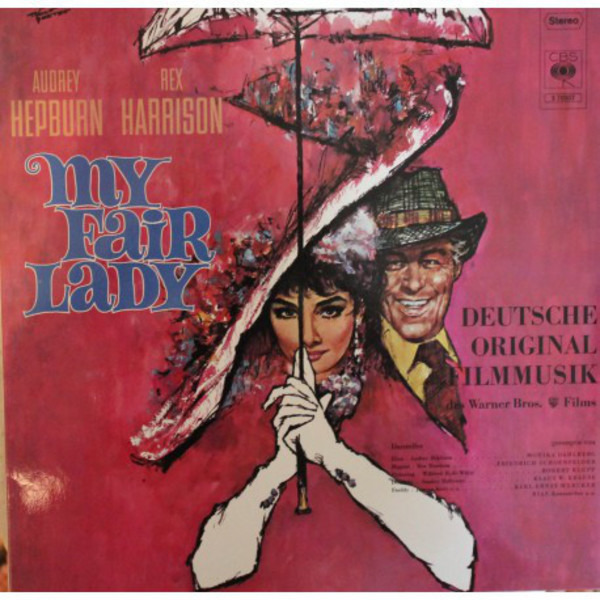 Audrey Hepburn And Rex Harrison My Fair Lady - Soundtrack