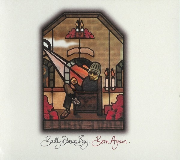 BADLY DRAWN BOY - Born Again (GATEFOLD CARD SLEEVE) - CD single