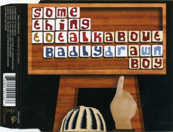 BADLY DRAWN BOY - Something To Talk About - CD single