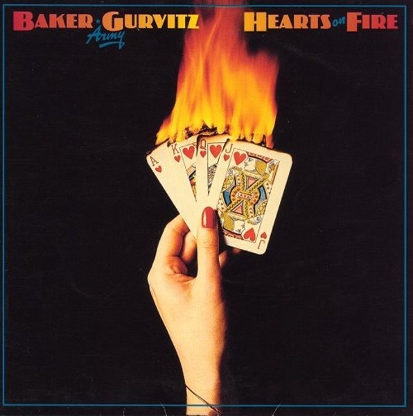 BAKER GURVITZ ARMY - Hearts On Fire - LP