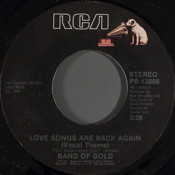 #<Artist:0x007f597bba1770> - Love Songs Are Back Again