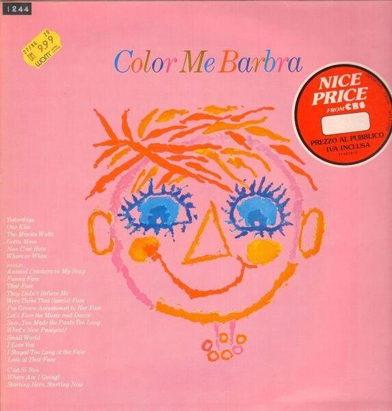 #<Artist:0x00007ff613a62eb0> - Color Me Barbra