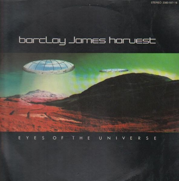 barclay james harvest eyes of the universe (original inlay, textured)