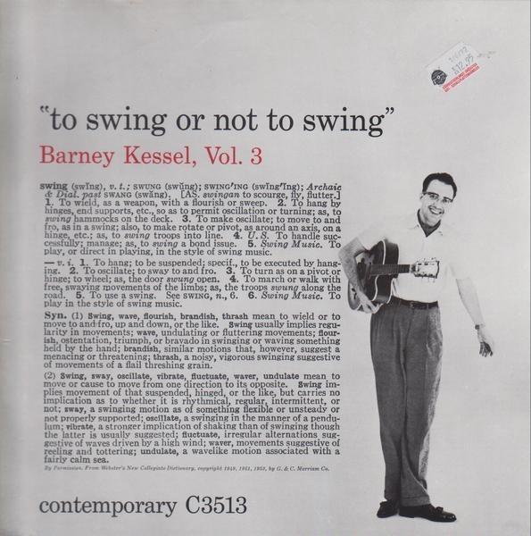 #<Artist:0x00007f6505abca40> - Vol. 3, To Swing Or Not To Swing