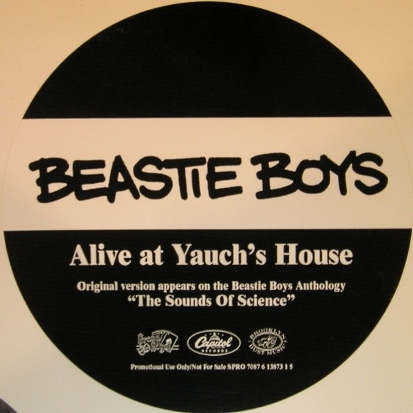 beastie boys alive at yauch's house