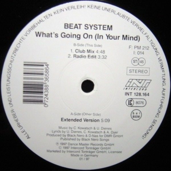 BEAT SYSTEM what's going on (in your mind)