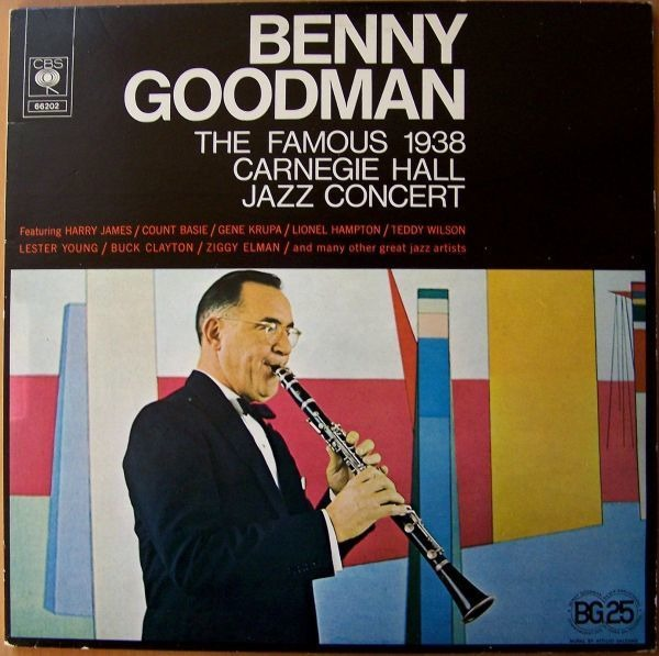 #<Artist:0x00007fcea7efdd28> - The famous 1938 Carnegie Hall Jazz Concert