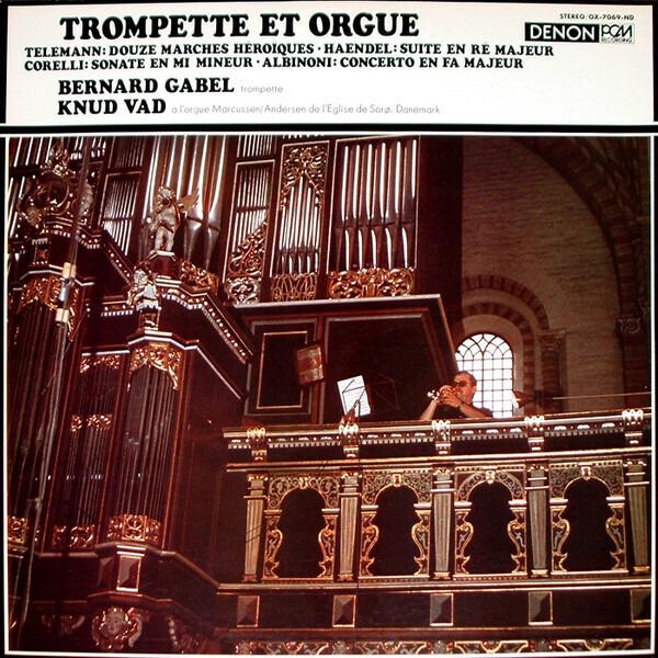 bernard gabel , knud vad trompette et orgue
