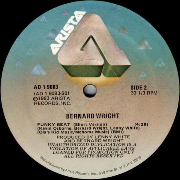 Bernard Wright Funky Beat (PROMO)