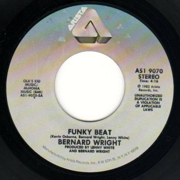 Bernard Wright Funky Beat