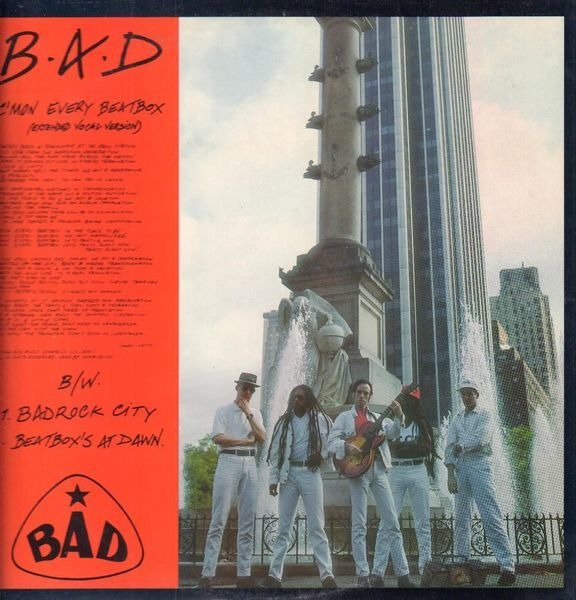 BIG AUDIO DYNAMITE - C'mon Every Beatbox - 12 inch x 1