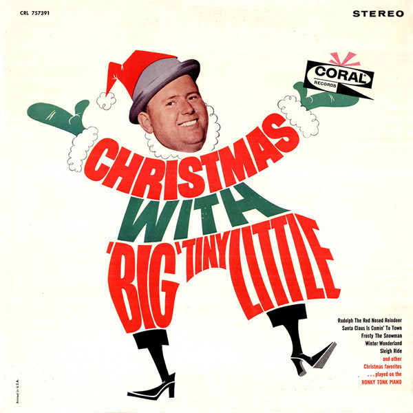 'BIG' TINY LITTLE - Christmas With 'Big' Tiny Little (STILL SEALED) - LP