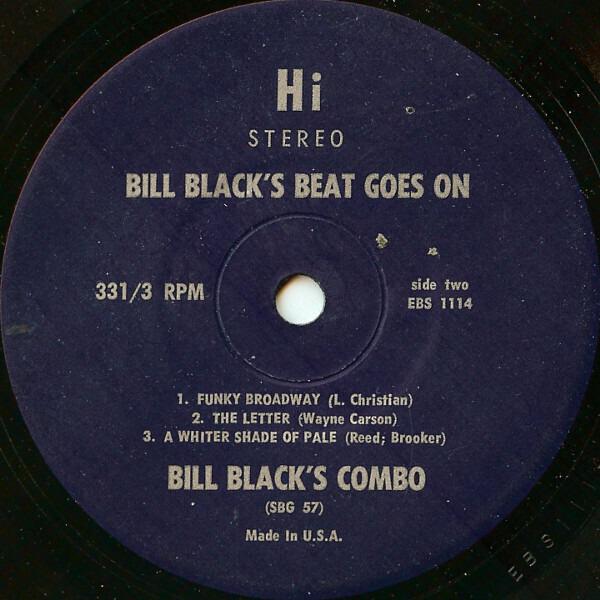 #<Artist:0x0000000610ed38> - Bill Black's Beat Goes On