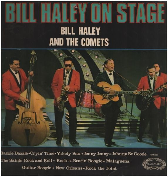 #<Artist:0x007f6ac2a6b150> - Bill Haley On Stage