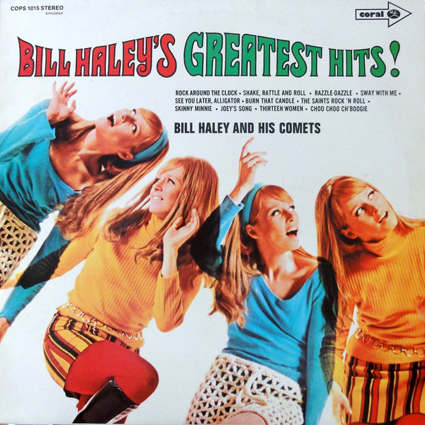 #<Artist:0x007f421a3d3a70> - Bill Haley's Greatest Hits!