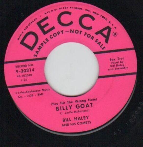 #<Artist:0x007f8169d9c938> - Billy Goat / Rockin' Rollin' Rover